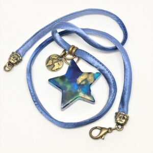 recycled plastic blue star